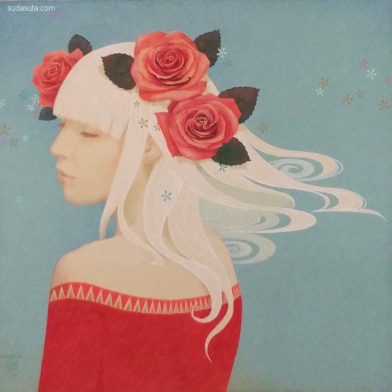 小林英且/Hideaki Kobayashi 绘画艺术欣赏