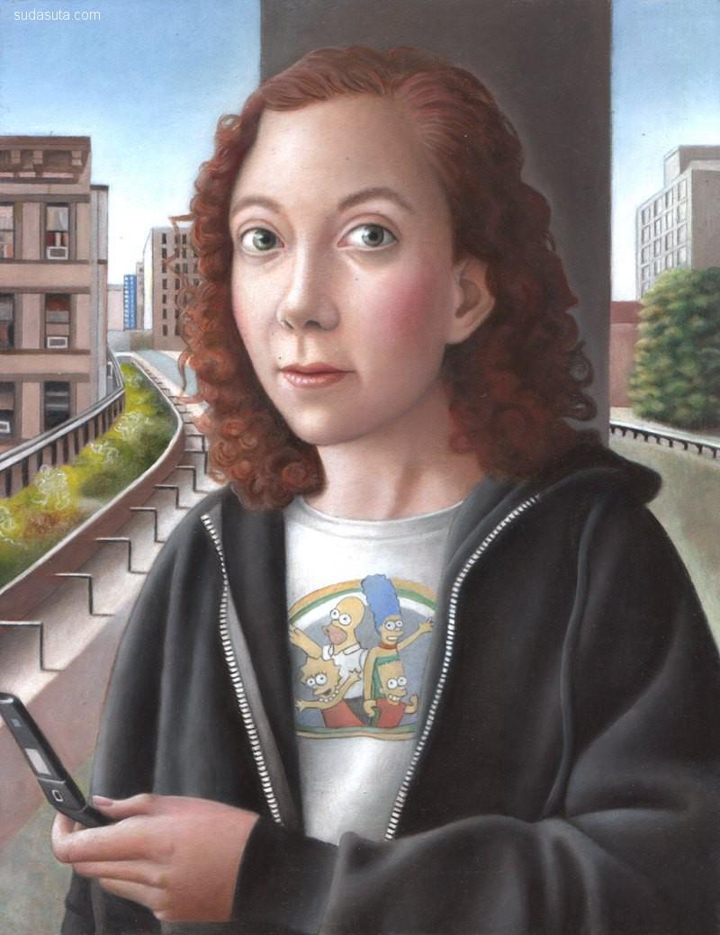 艺术家 Amy Hill 超现实主义讽刺卡通欣赏