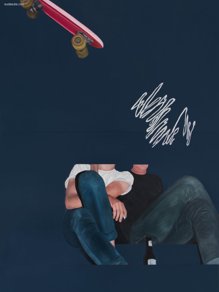 Ian Thomas Miller 混合艺术欣赏