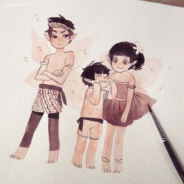 Iree ( Maghfira Ramadhanti ) 令人脸红的卡通速写本子