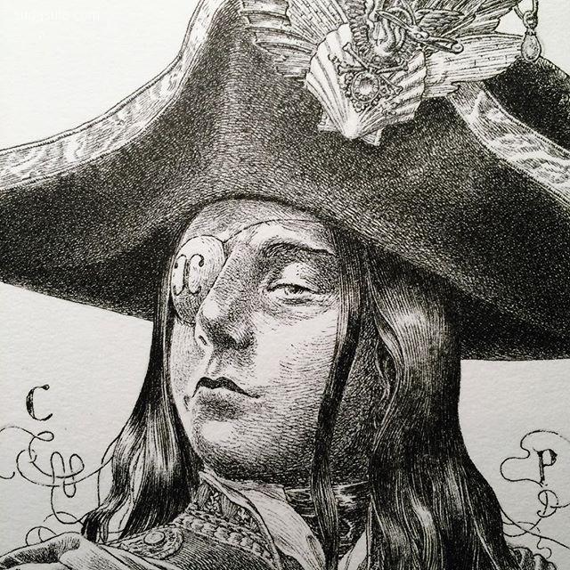 Jeremy Bastian 古典主义装饰插画欣赏
