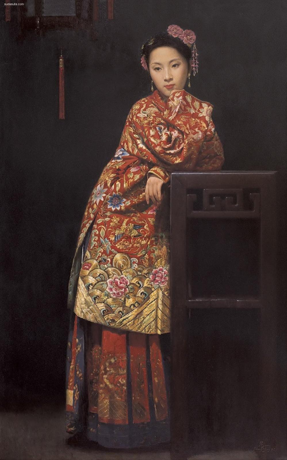 蒋昌一 Jiang Changyi 肖像插画欣赏