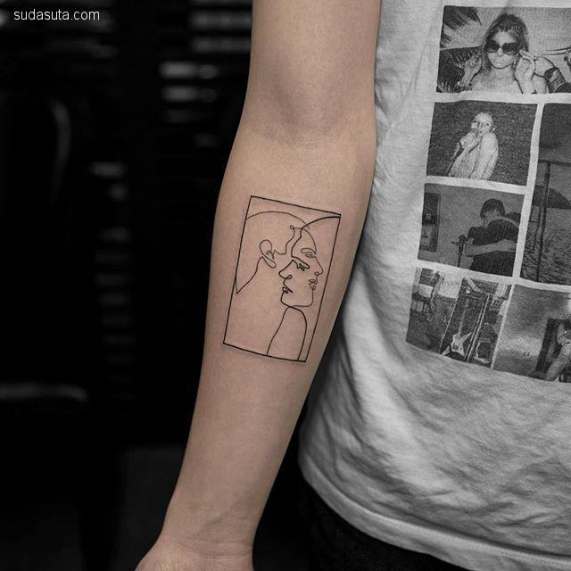 Joice Wang 在身体上作画
