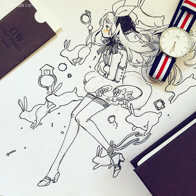 Kaytseki(梅雨季) 漫画CG欣赏