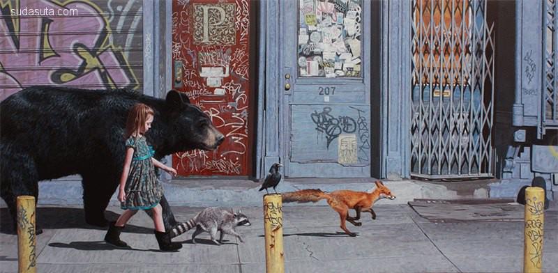 Kevin Peterson 超现实主义绘画艺术欣赏