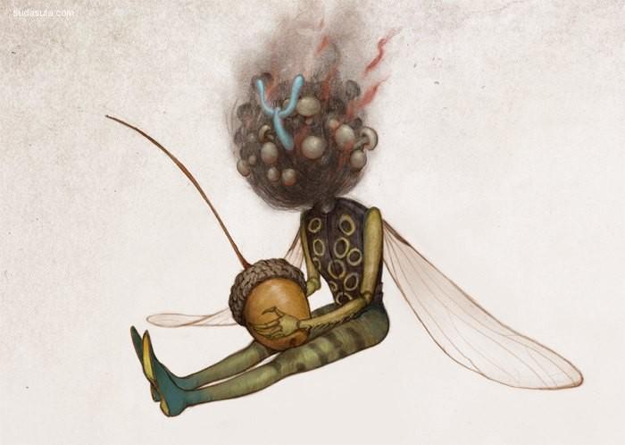 신민경(Lala Shin) 概念插画欣赏