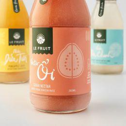 Le 新鲜的果汁包装设计