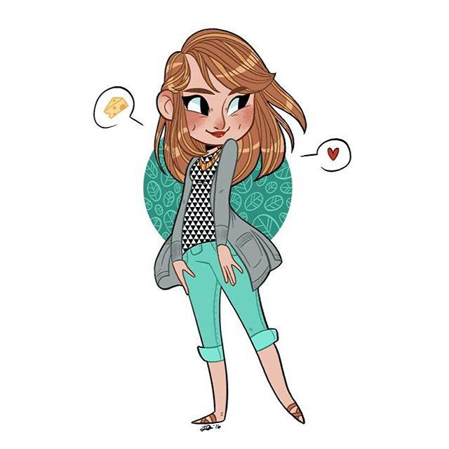 Leah Artwick 萌萌的少女心漫画