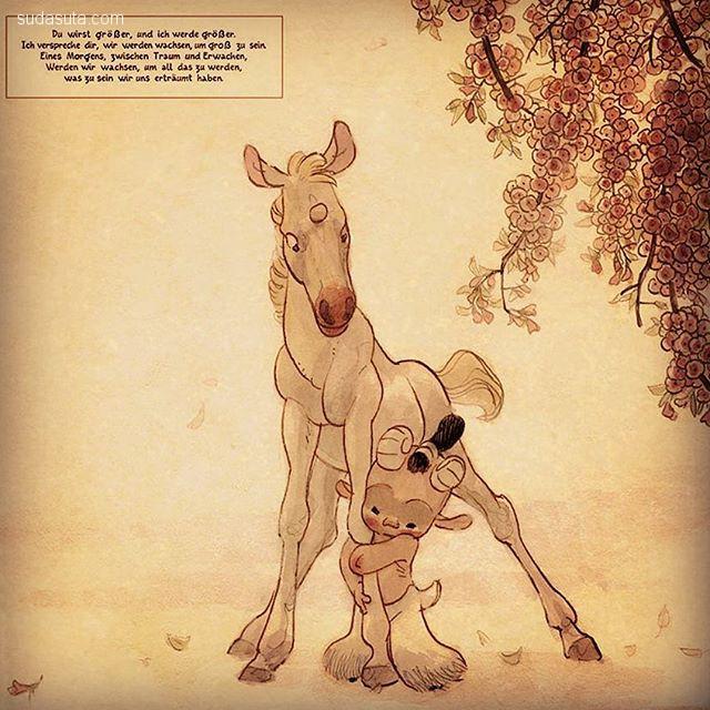 Manu Arenas 卡通插画欣赏