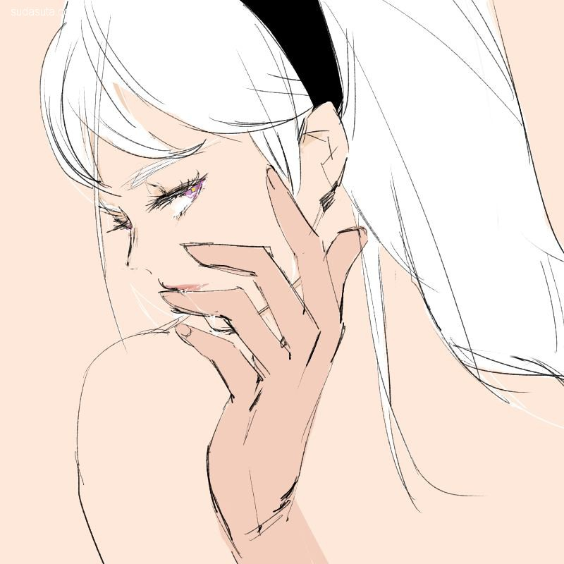 Marina 性感可爱的同人CG涂鸦