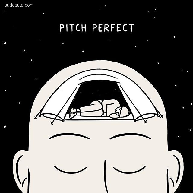 Matt Blease 可爱幽默的小插画