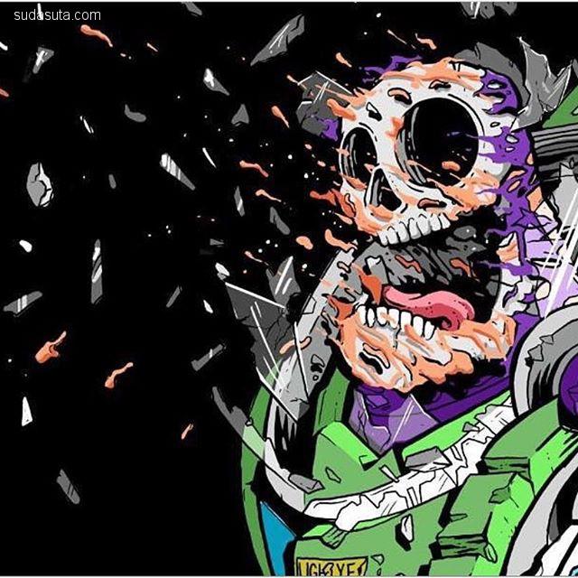 Matt Gondek 卡通解构主义 潮流插画欣赏