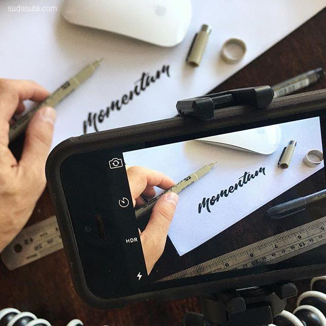 Matt Vergotis 手写花体字设计欣赏