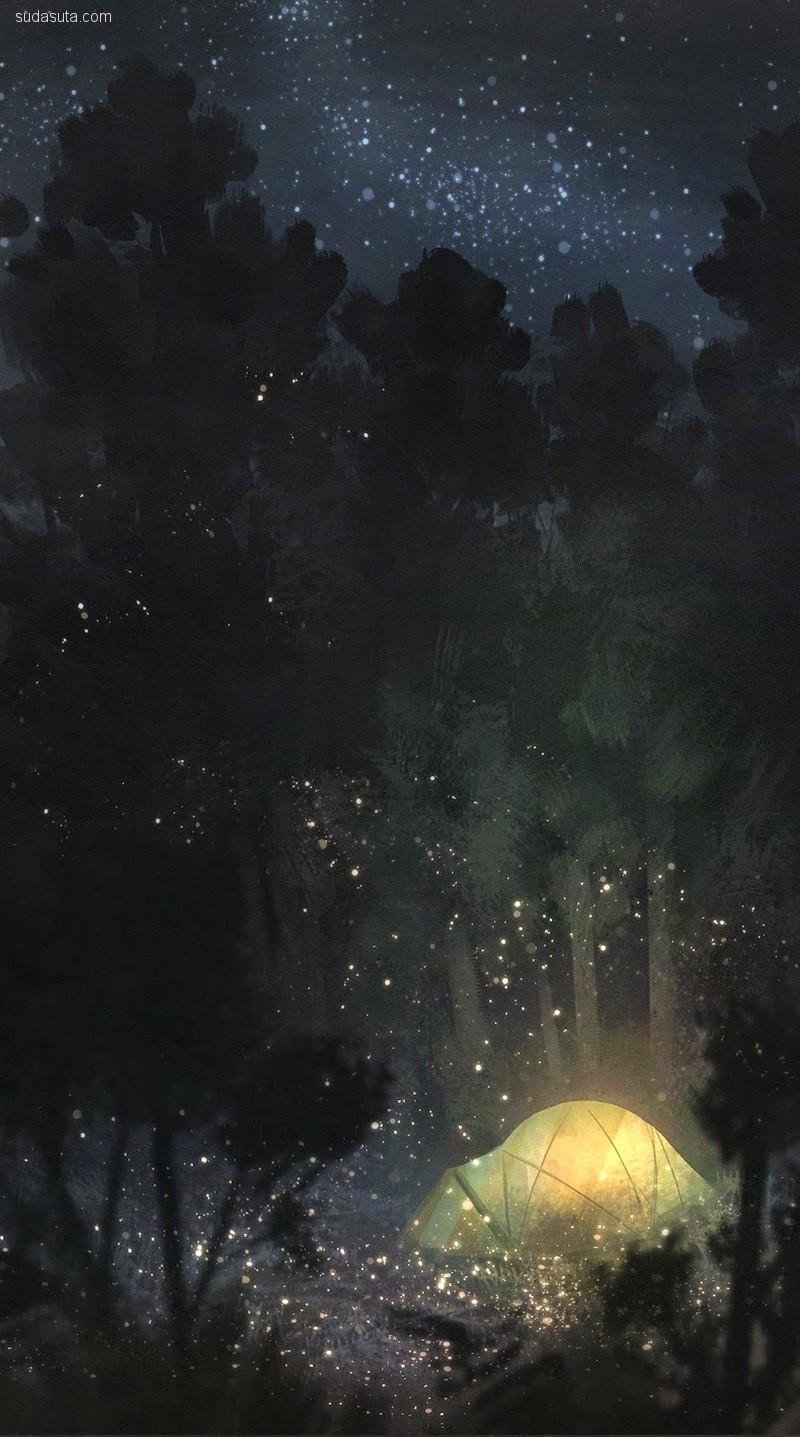 Michael Wang 传奇插画欣赏