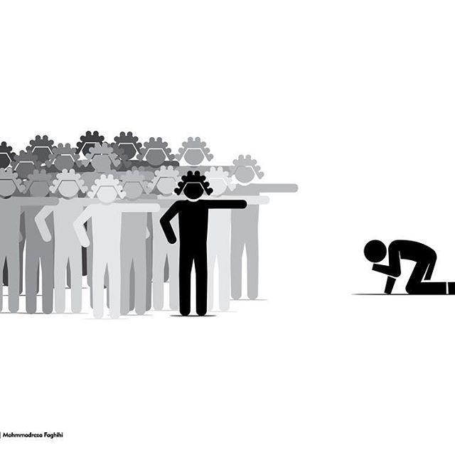 Mohammadreza Faghihi 扁平化风格图形设计欣赏