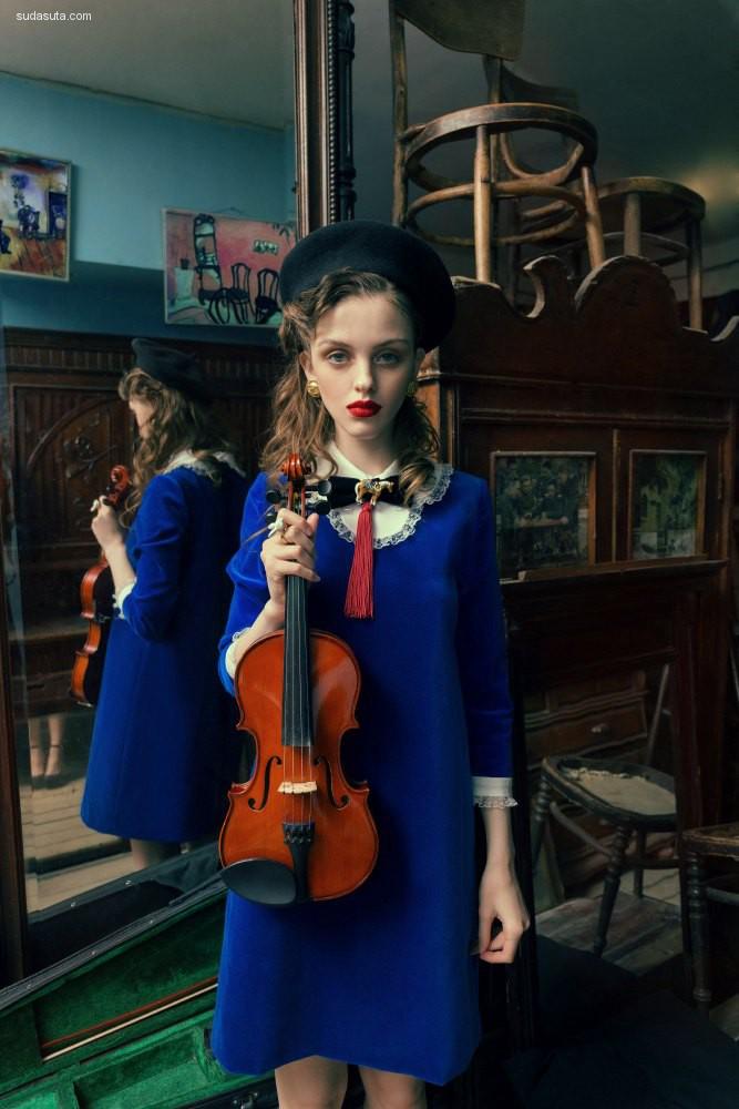 Muse and violin 时尚摄影欣赏