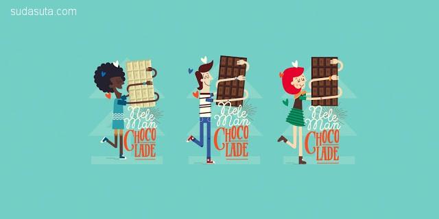 Neleman 家的巧克力 包装设计欣赏