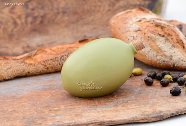 Gino's Garden 橄榄油包装设计欣赏