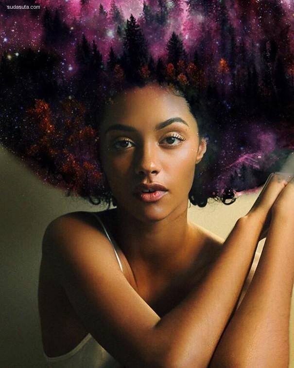 Pierre Jean-Louis 星空与黑色皮肤