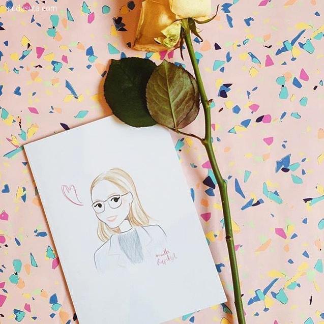 Maëlle Rajoelisolo 时尚手绘插画