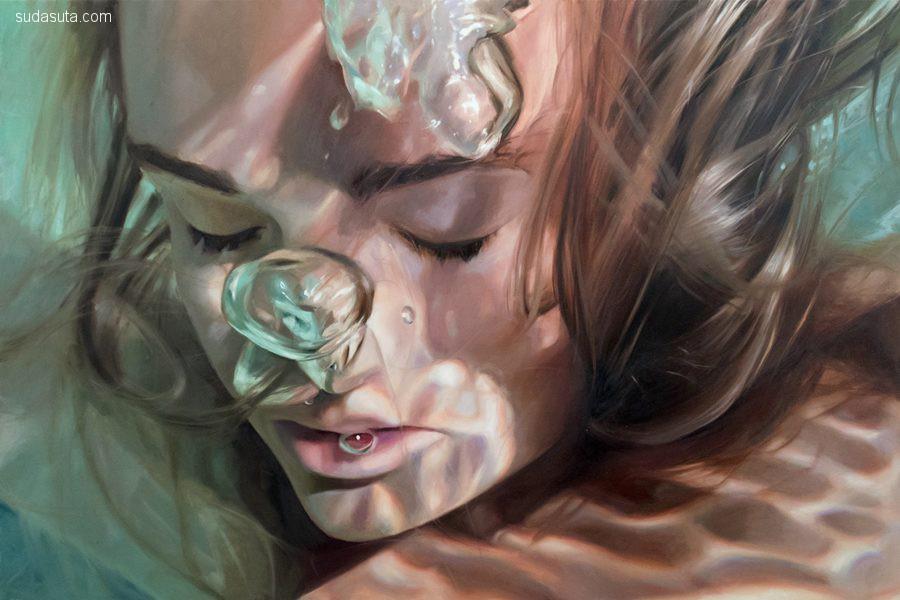 Reisha Perlmutter 绘画艺术欣赏