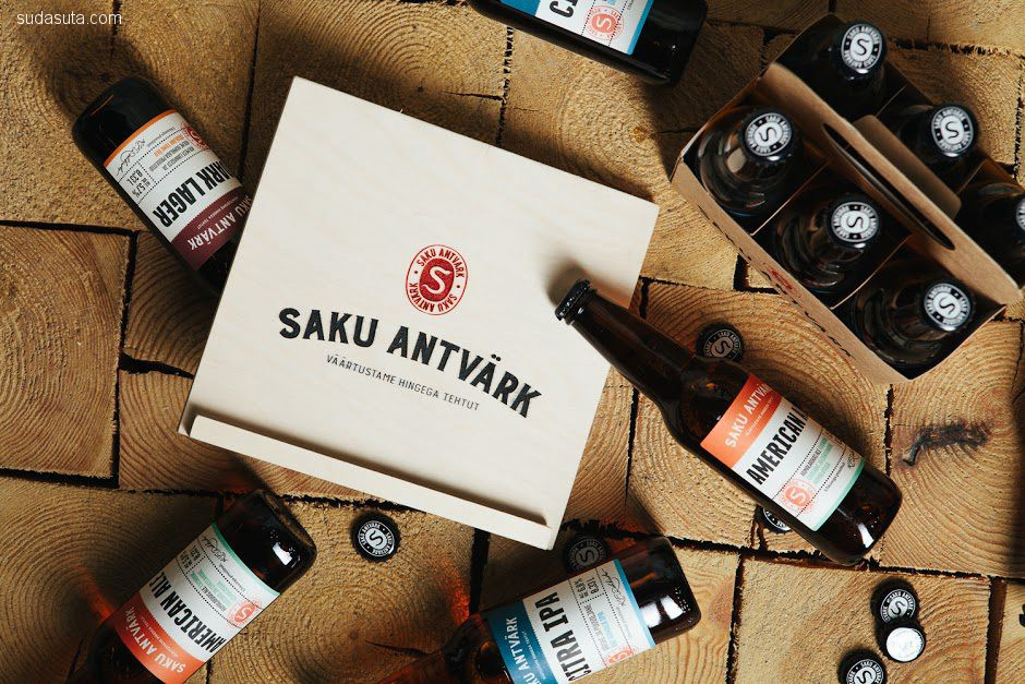 Saku Antvärk 品牌设计欣赏