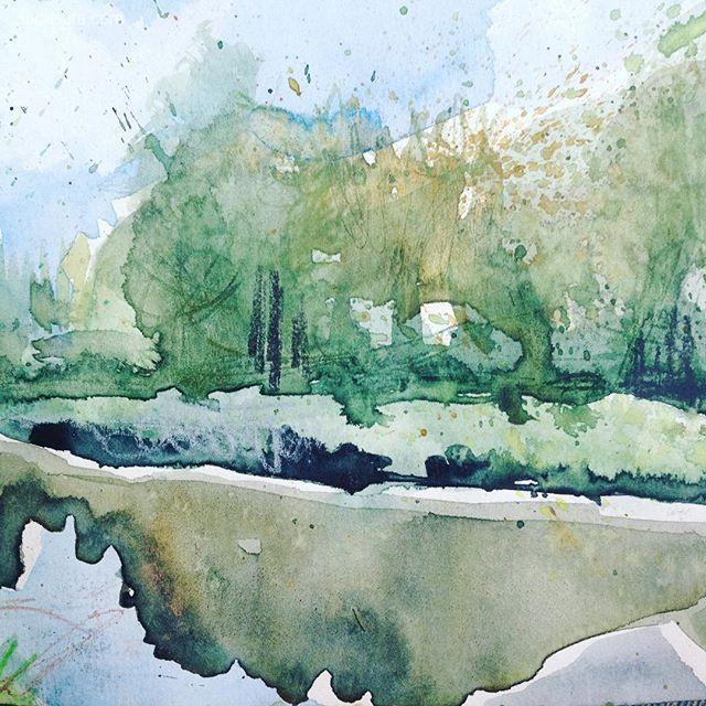 Sam Boughton 水彩风景插画欣赏