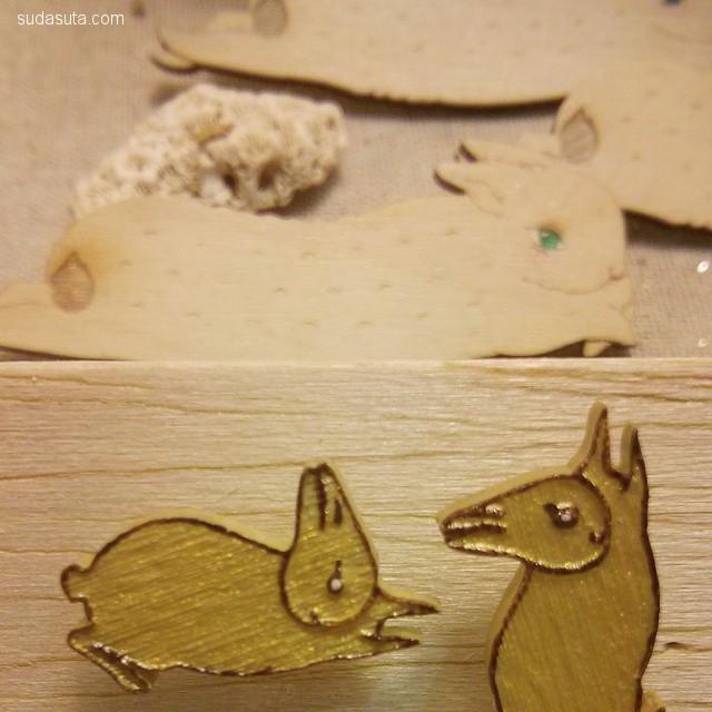 Sous Sous 兔子和装饰品