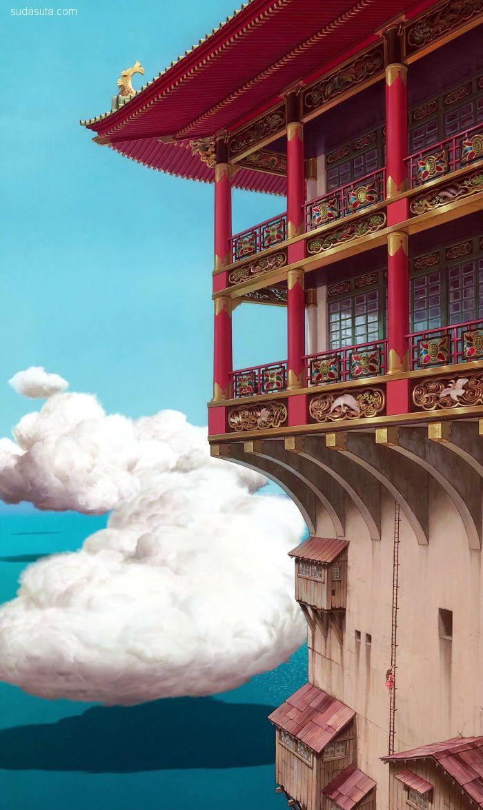 宫崎骏的魔法世界 手机壁纸分享