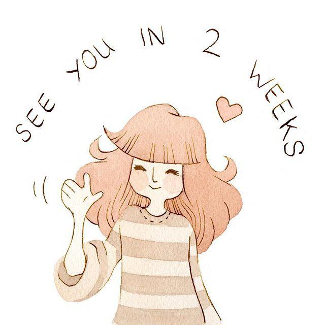 Vanessa 清新有爱的小插画