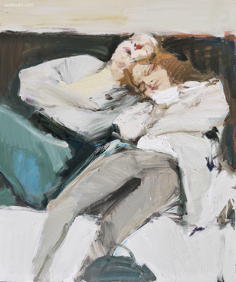Владимир Семенский(Vladimir Semenskiy) 绘画艺术欣赏