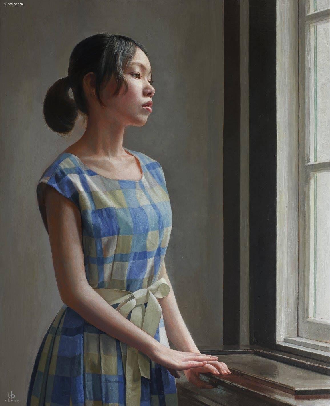 日本艺术家 茶谷雄司(Yuji Chaya) 人像插画作品欣赏