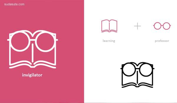 创意LOGO设计欣赏 更多扁平化