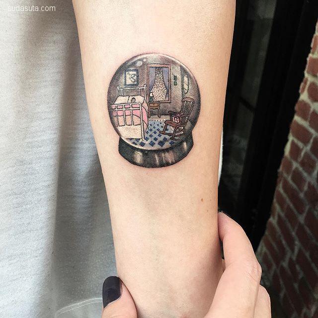 Eva 细腻如宇宙般的纹身设计欣赏