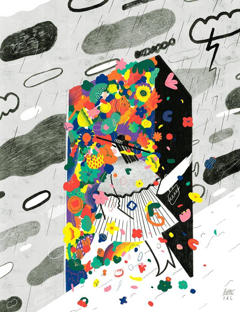 Gizem Vural 清新可爱的插画欣赏