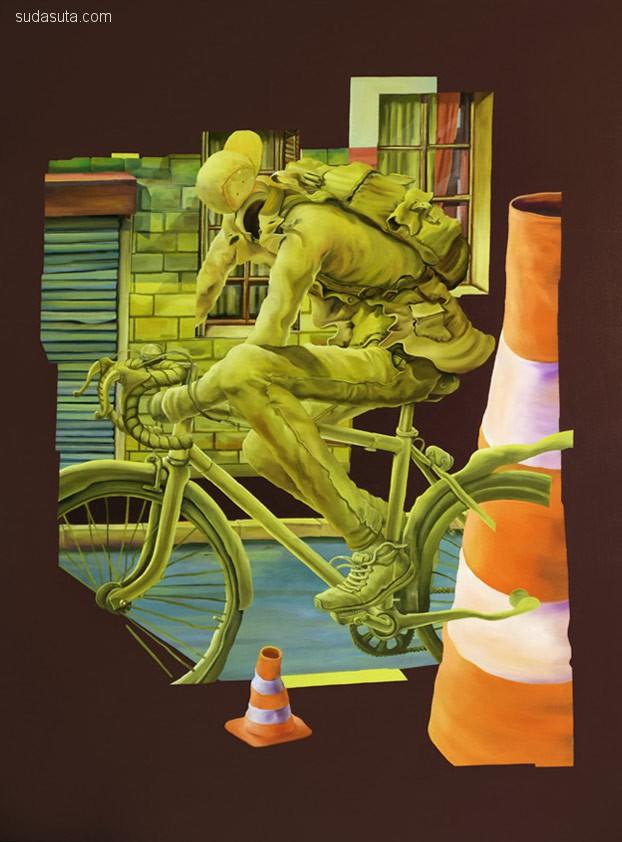 艺术家 John Kviar 绘画作品欣赏