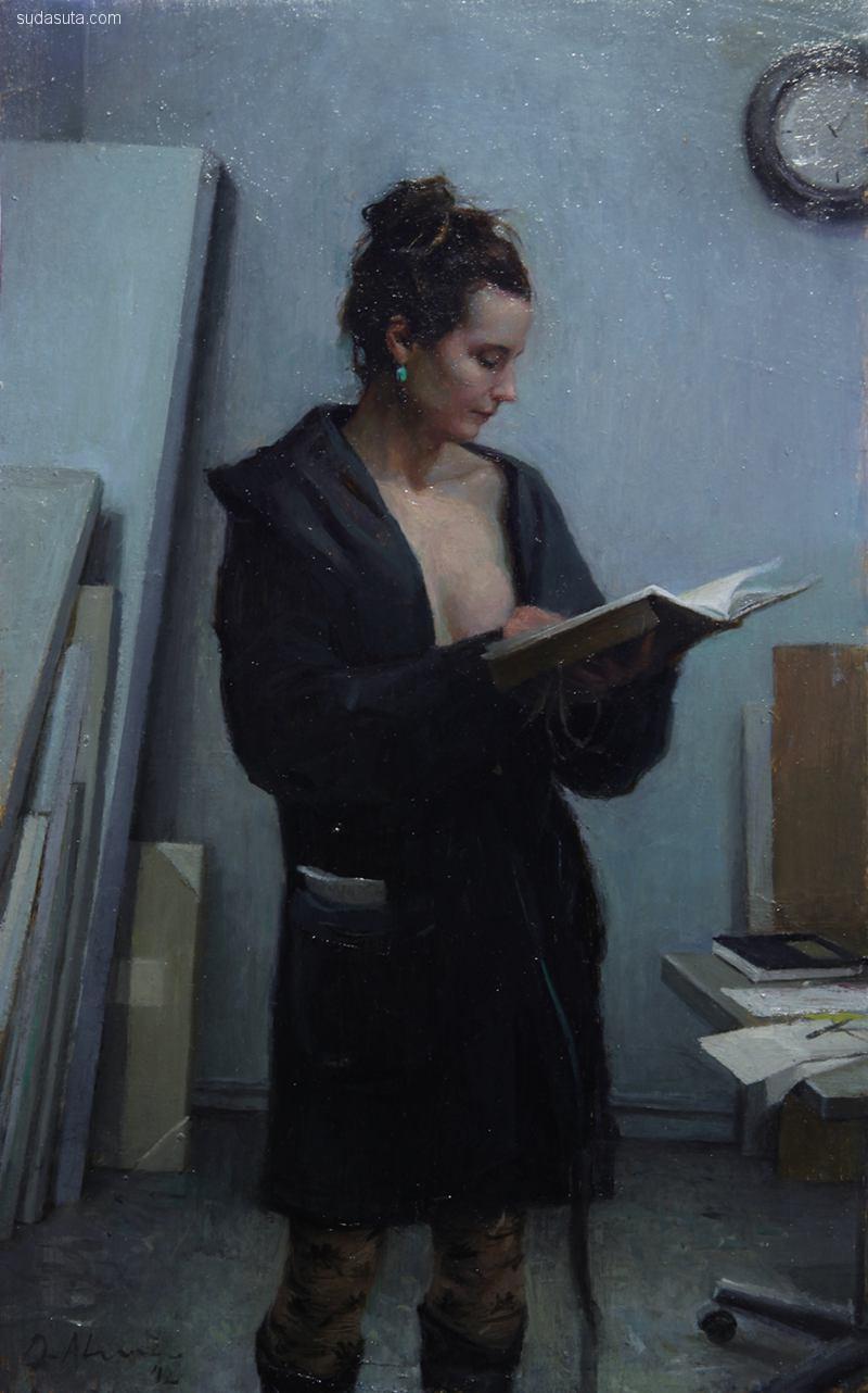 Jordi Diaz Alamà 肖像插画欣赏