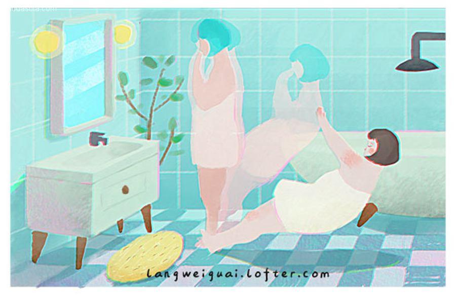 浪浪浪味怪 温馨浪漫的儿童插画欣赏