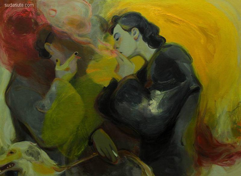 刘晨阳 绘画艺术欣赏