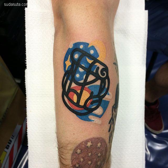 意大利纹身艺术家 Mattia Mambo