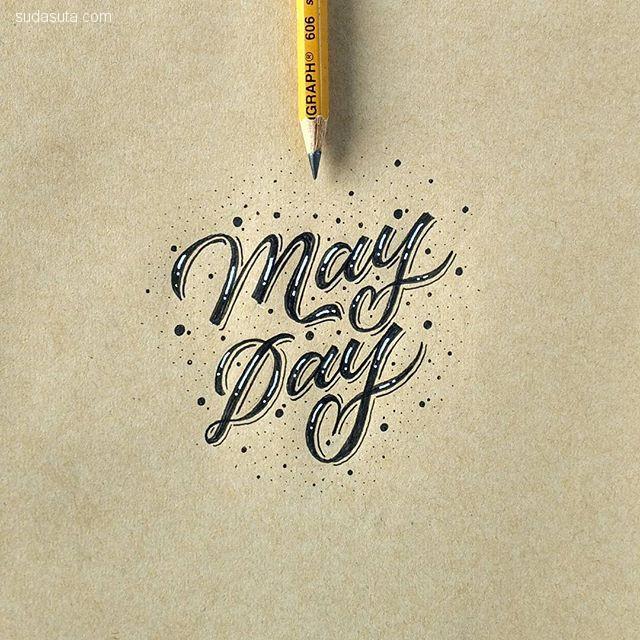 megi satyo widodo 叶子上的手写花体字
