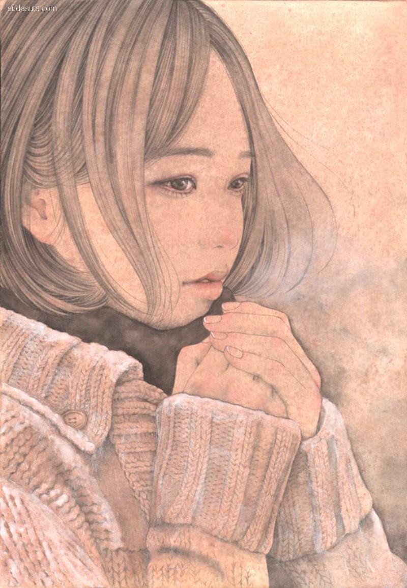 宮崎 優 (呉榮子) 人像插画欣赏