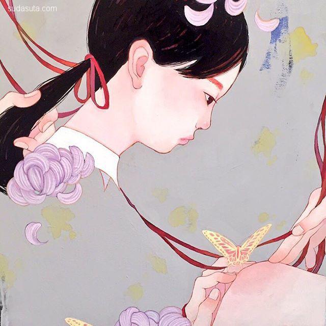 日本可爱动漫女生