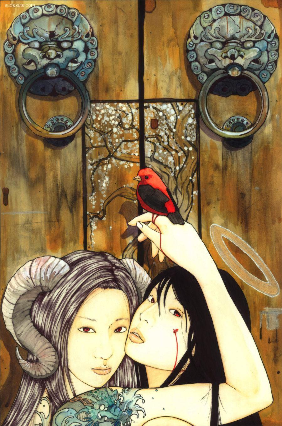 Agarwen Umarth 绘画艺术欣赏