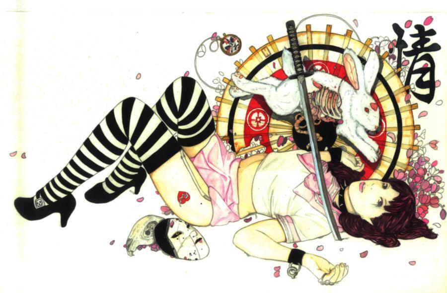 Agarwen Umarth 情色插画欣赏