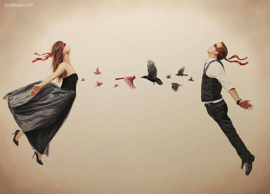 Alex Hall 超现实主义绘画作品欣赏