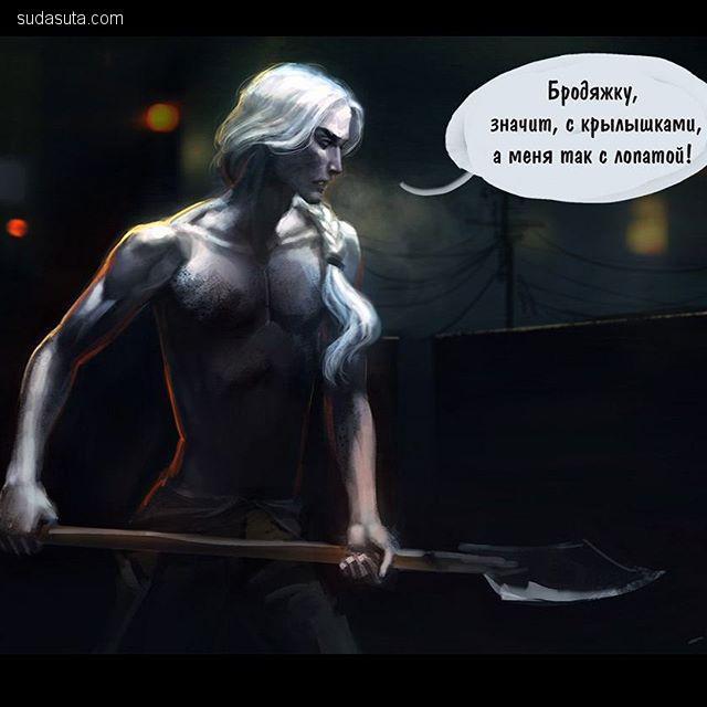 Anna (Ganna) Pazyniuk  概念插画欣赏