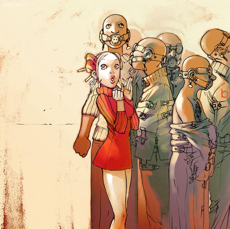 Bengal 性感的卡通漫画CG欣赏