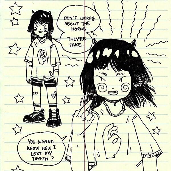 Benji Nate 可爱的卡通涂鸦本子