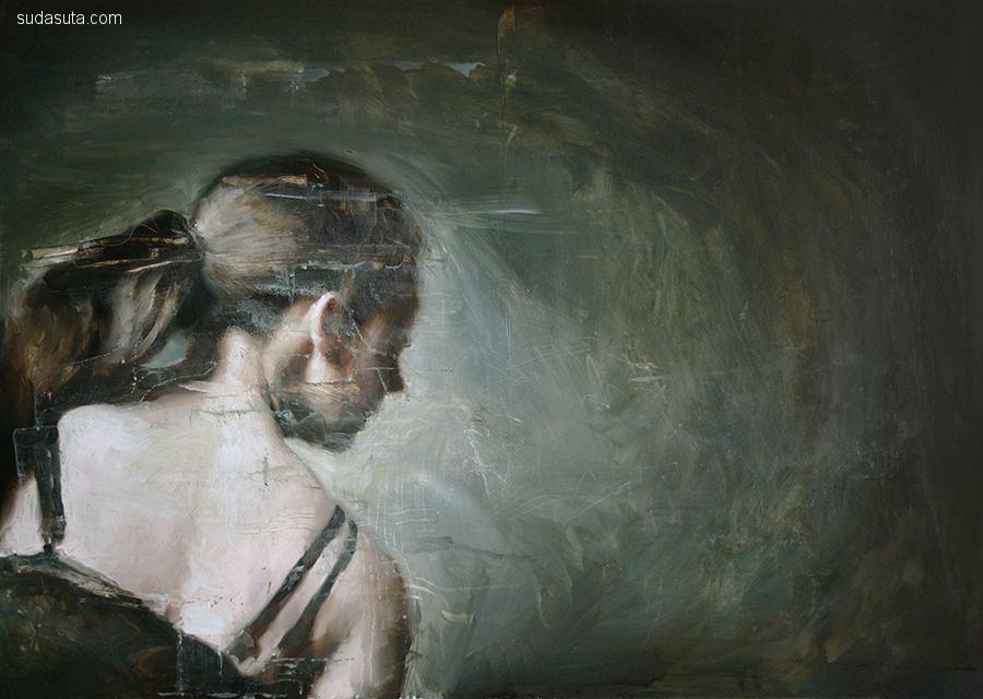 Britt Snyder 朦胧迷人的绘画艺术